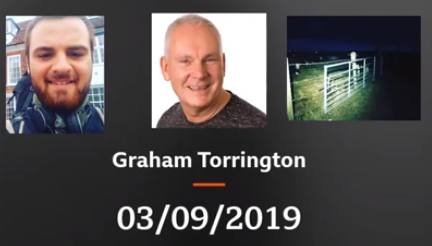 Day 25 September 3rd – Interview with Graham Torrington