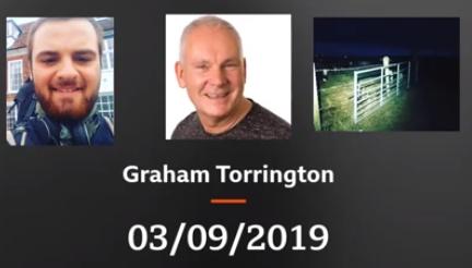 Day 25 September 3rd – Interview with Graham Torrington