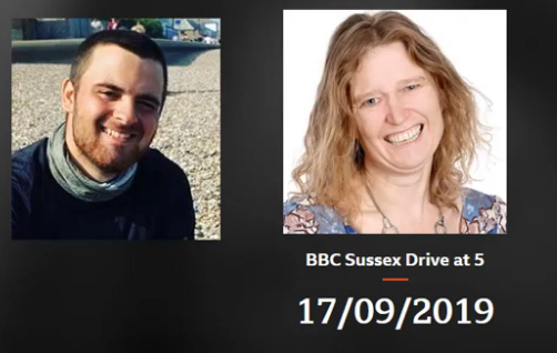 Day 39 – September 17th – Interview on Radio Sussex